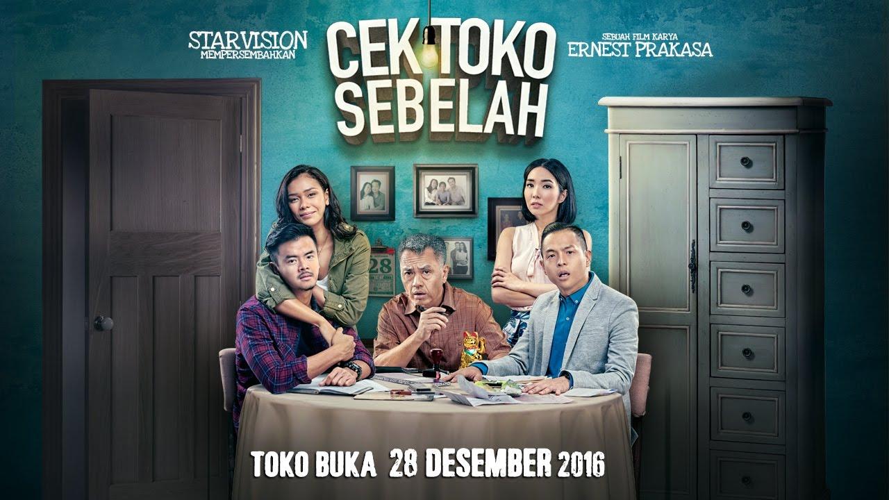 Sinopsis Film Cek Toko Sebelah, Drama Keluarga Ernest Prakasa yang Penuh Komedi